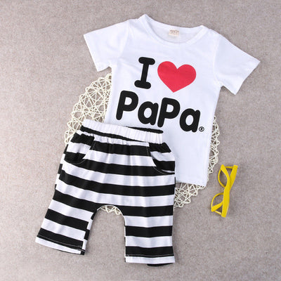 Baby Striped Pants Outfits