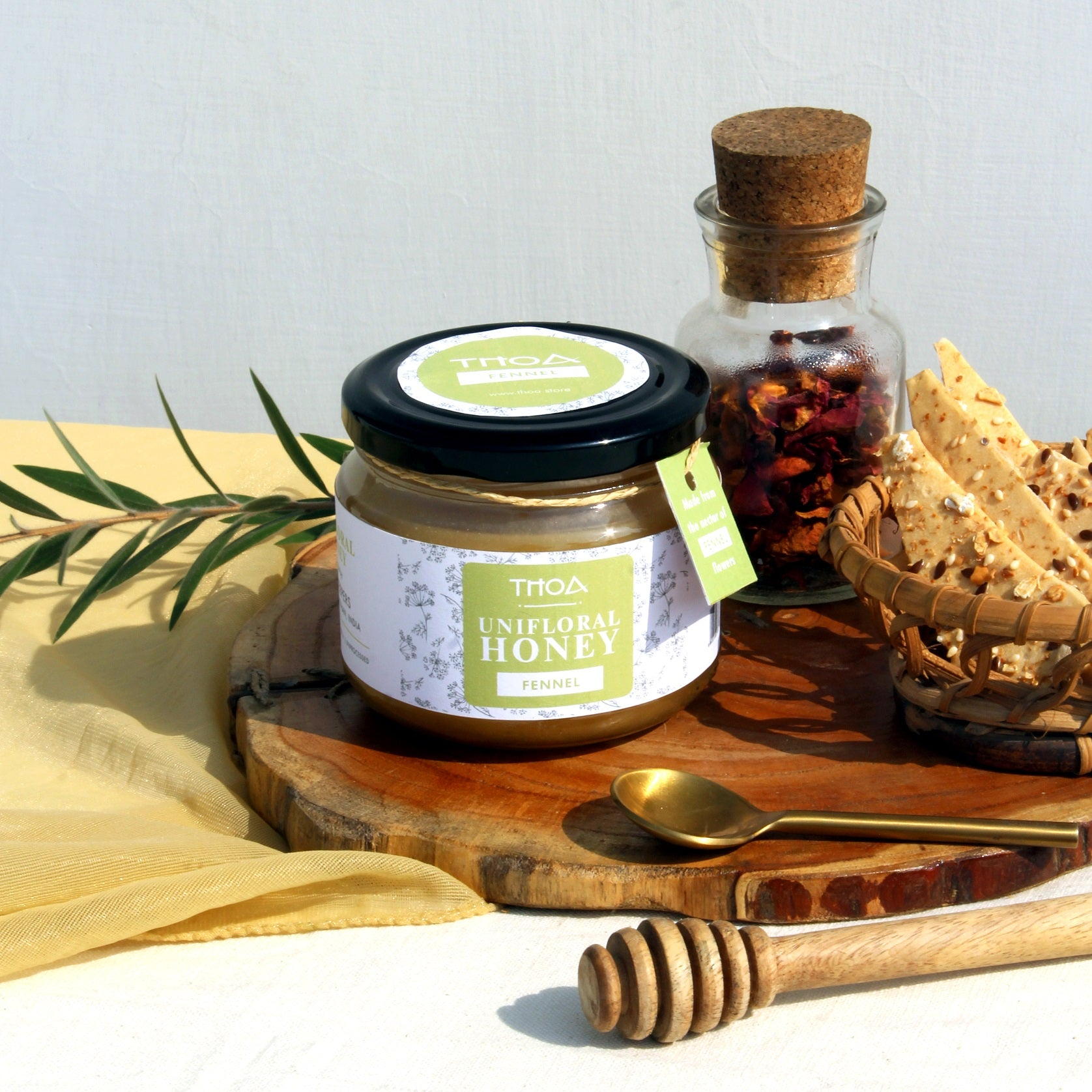 What makes THOA Unifloral Honey the healthiest on earth?