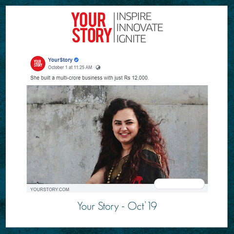 Our founder Shineel's story publish on Your Story.