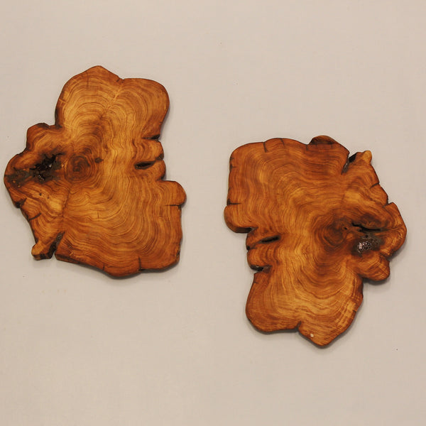 Our Juniper coasters made with distressed wood. It adds so much character to your table setting.