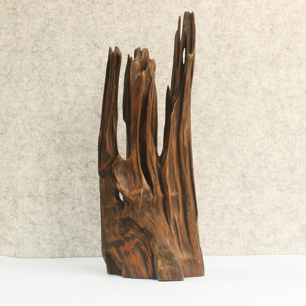 The Towering Wave, a beautiful decor piece made from driftwood. A unique collection and our personal favorite