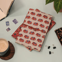 Sustainable Upcycled Handmade Notebook (Elephant)
