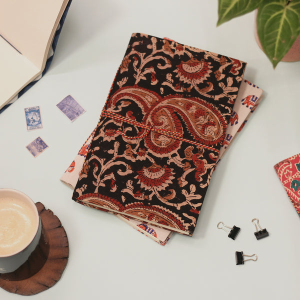 Sustainable Upcycled Handmade Notebook (Dabu)