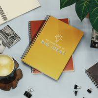 Notebook: My small book of big ideas