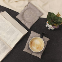 Concrete Cushion Coasters (Set of 2)