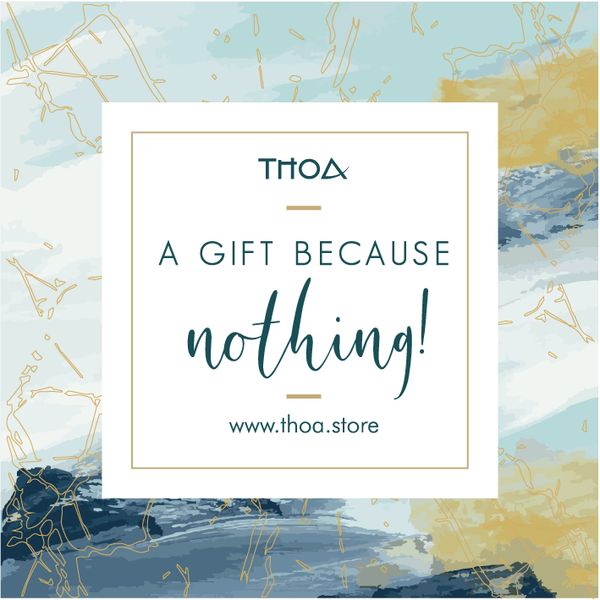 Gift Card: A gift because nothing!