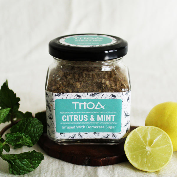 Citrus & Mint Demerara Sugar