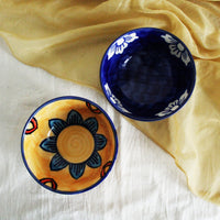 Hand painted Bowls (Set of 2)