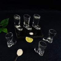 Boot Shaped Shot Glasses