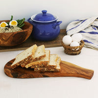 Olive wood platter for appetizers