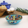 Traditional colorful ceramic turkish bowls
