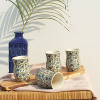 Exquisite ceramic water glasses sets for dining purposes