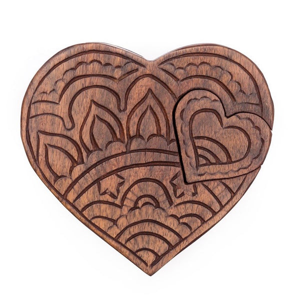 Caixa Decorativa - Puzzle Heart