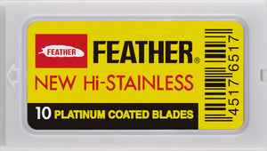 FEATHER Hi Stainless Double Edge Razor Blades 20 Pack
