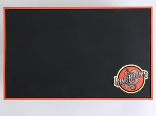 King Brown Pomade Rubber Tool Mat