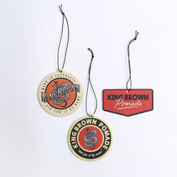 King Brown Pomade Air Freshener 30-pk
