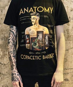 Copacetic Anatomy of a Barber T-Shirt