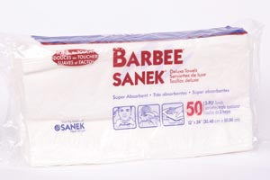 Barbee Sanek | 3-Ply Deluxe Towels CASE