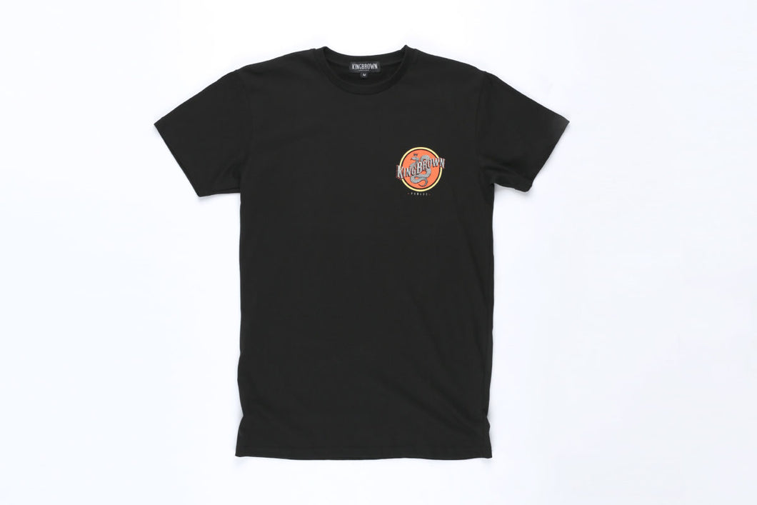 King Brown Pomade Black 'Insignia' Tee