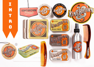 INTRO OFFER: King Brown Pomade | Stockist Kit