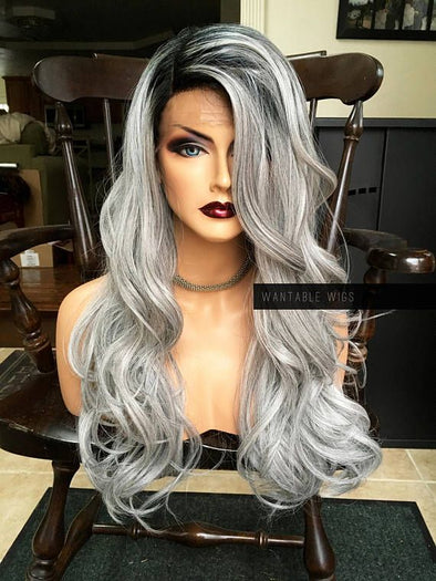 Gray Wigs Hair 50 Shades Of Grey Hair SpraySalt And Pepper Hair