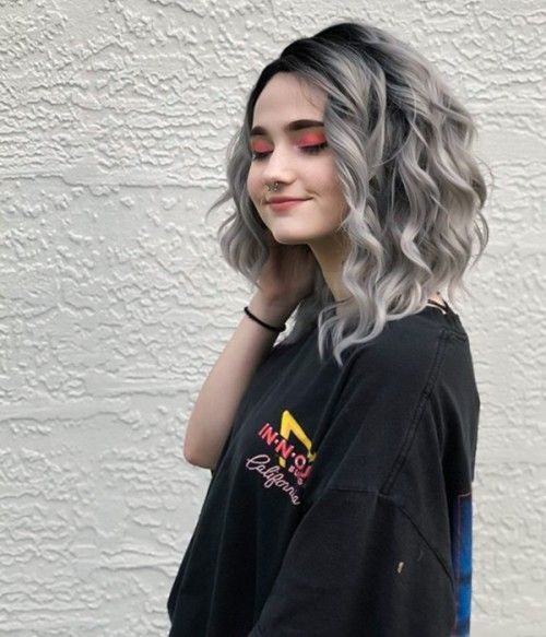 Gray Lace Frontal Wigs Women'S Shampoo For Grey Hair