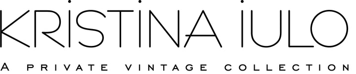 kristina iulo | a private vintage collection