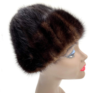 kristina iulo vintage collections Accessories Vintage 1950s Brown Mink Hat