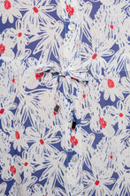 Load image into Gallery viewer, ALEXANDRA DRESS FLOWER DRAWING BLUE - WE BANDITS