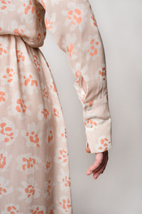 ALEXANDRA DRESS FLOWER PUNCH BEIGE - WE BANDITS