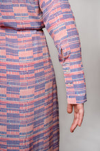 Load image into Gallery viewer, ALEXANDRA DRESS HONOLULU RED/BLUE - WE BANDITS