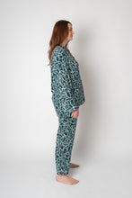 Load image into Gallery viewer, SELMA PYJAMA GINGER GREEN SET - WE BANDITS