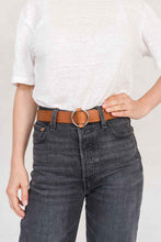 Load image into Gallery viewer, SIA LEATHER BELT CAMEL - WE BANDITS