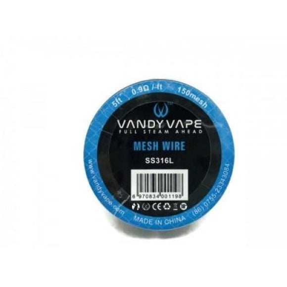 Vandy Vape Mesh Wire SS316L 0.9 Ohm-ft
