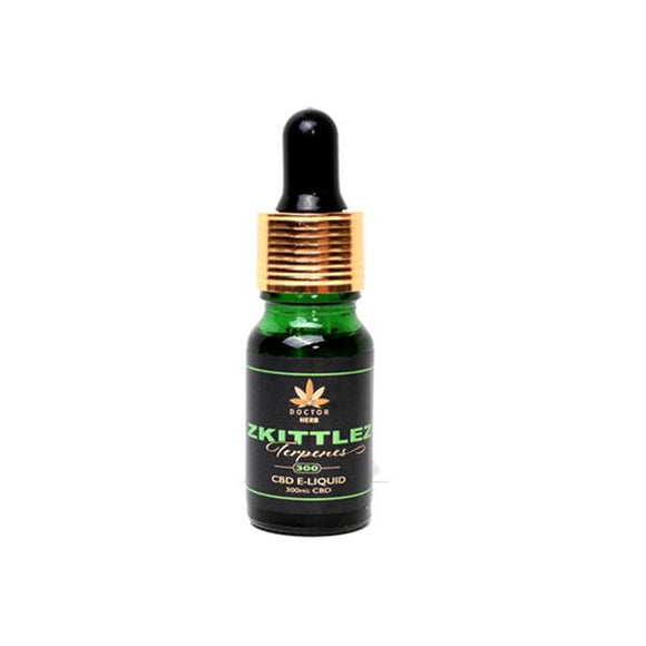 Doctor Herb 300mg Terpene Infused CBD E-Liquid 10ml