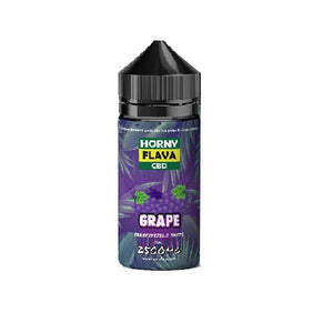 Horny Flava 2500mg CBD Vape Oil 120ml Shortfill E-Liquid