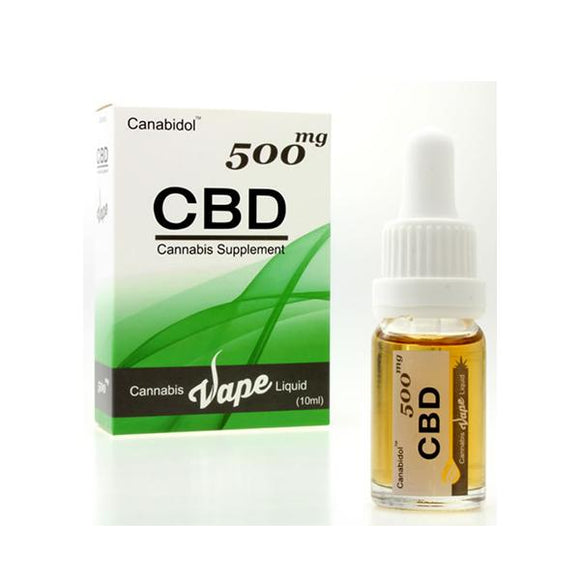 Canabidol 500mg CBD Vape E-liquid 10ml