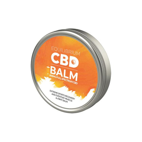 Equilibrium CBD Extreme Sports Recovery Balm 800mg 60ml - Lovely Liquid