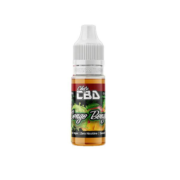 Chefs CBD 25mg CBD Isolate E-Liquid 10ml (50VG/50PG)