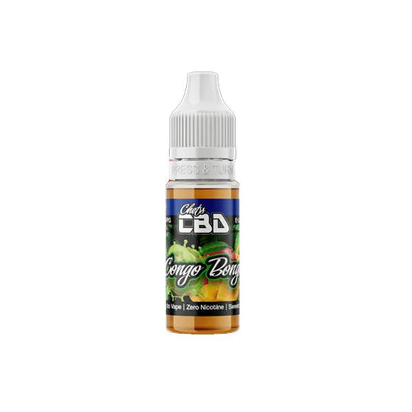 Chefs CBD 25mg CBD Full Spectrum E-Liquid 10ml (50VG/50PG)