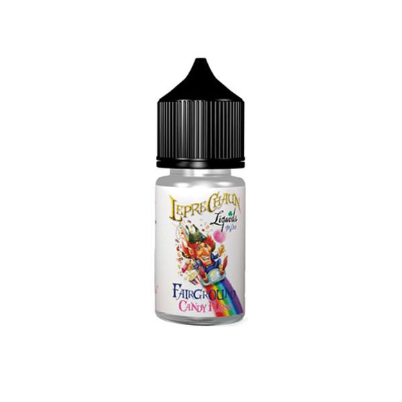 Leprechaun Fairground 30ml (20ml Shortfill + 1 x 10ml Nic Shots) (70VG/30PG) - Lovely Liquid