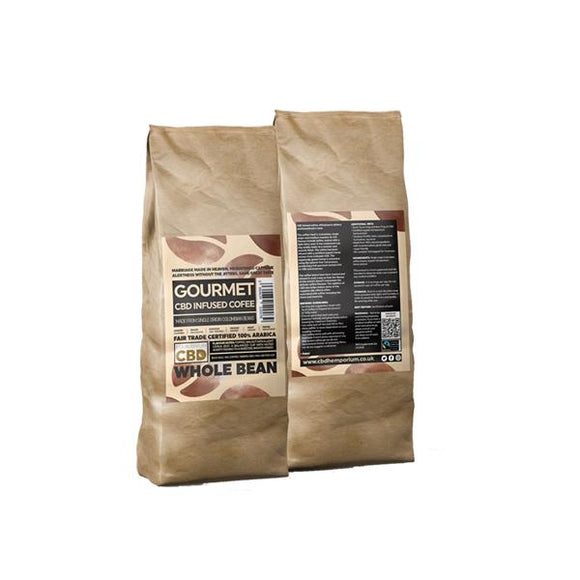 Equilibrium CBD 1000mg Gourmet Whole Bean CBD Coffee 1kg Bag