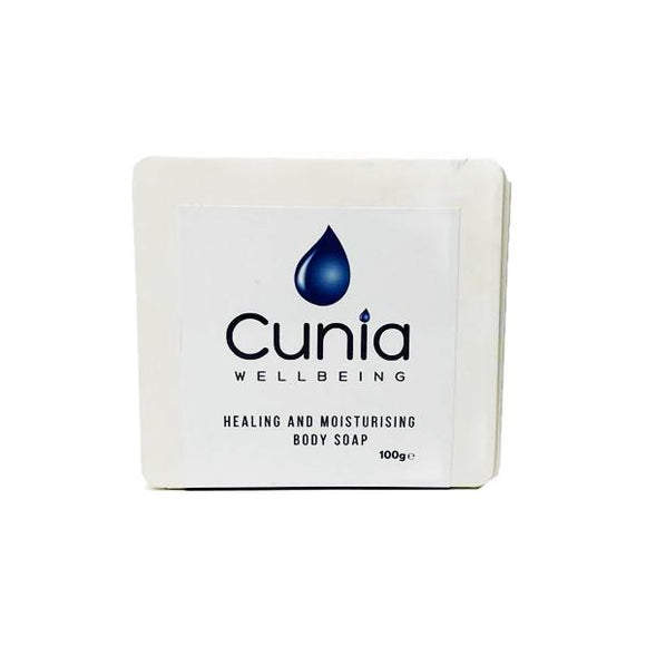 Cunia 20mg CBD Healing and Moisturising Body Soap 100g - Lovely Liquid