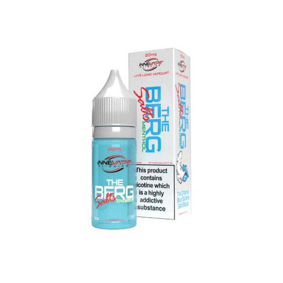 20mg The Berg Menthol by Innevape Nic Salts (80VG-20PG) - Lovely Liquid