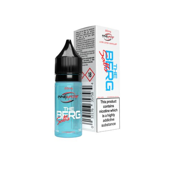 20mg The Berg by Innevape Nic Salts (80VG-20PG) - Lovely Liquid
