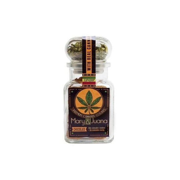 Euphoria Mary & Juana Premium Cookies - Chocolate - Lovely Liquid
