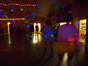 Roller Disco 40th Birthday Party