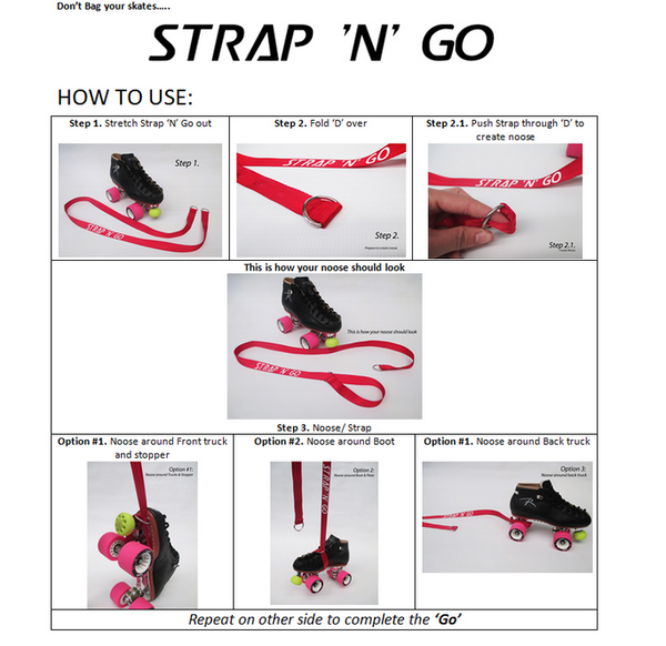 How to use strap n go