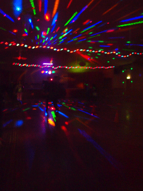 Lights at Roller Disco