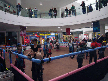 Skating Rink in Noarlunga Shopping Centre